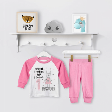 Personalised Bunny Birthday Eve Pyjamas