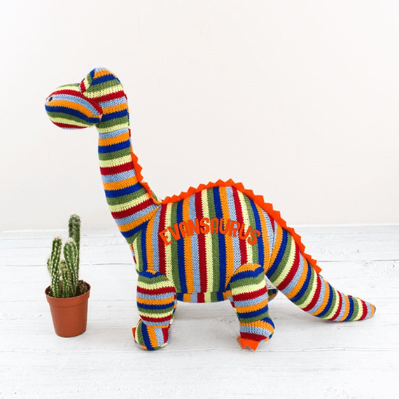 Personalised Dino Teddy
