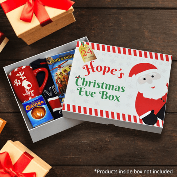 Personalised Santa Christmas Eve Box - Santa