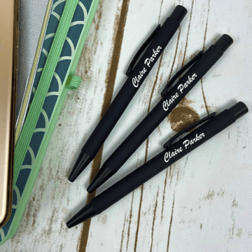 Personalised Engraved Stardust Ballpen - Pack of 3