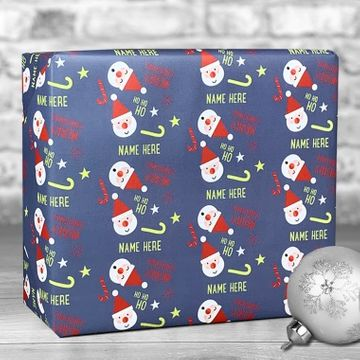 Personalised Christmas Santa Gift Wrap