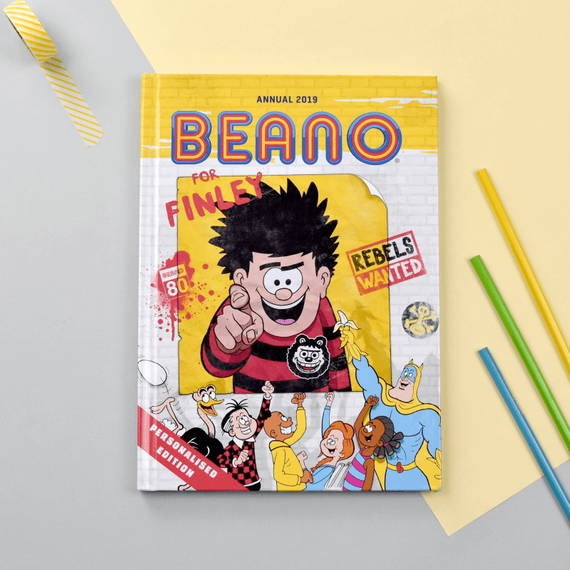 Personalised Beano Annual 2019