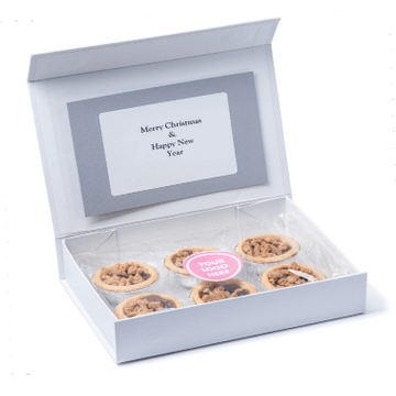 Personalised Mince Pie Box
