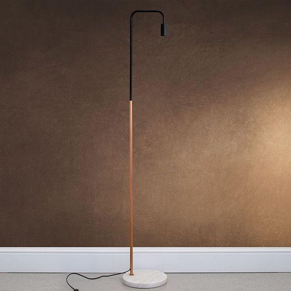 Marble Stone Base Floor Lamp