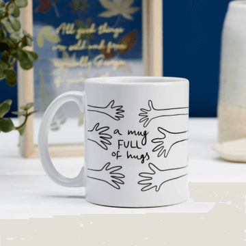 Personalised Full of Hugs Mug