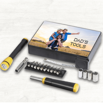 Personalised 18 Piece Tool Box