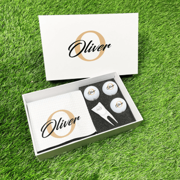 Personalised Golfers Gift Box