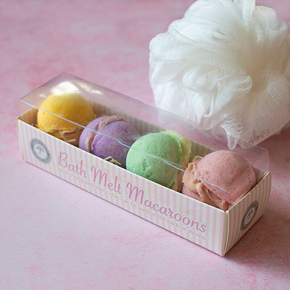 Bath Melt Macaroons - Pink