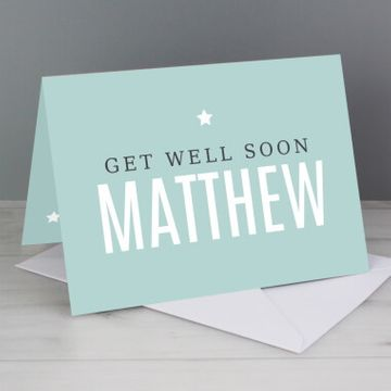 Personalised Mint Card