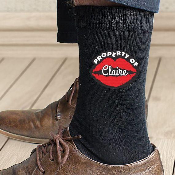 Personalised Property Of Socks