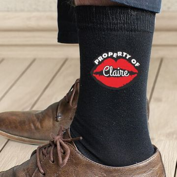 Personalised Property Of Socks