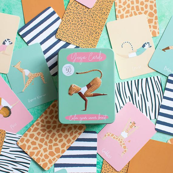 Character Yoga Cards