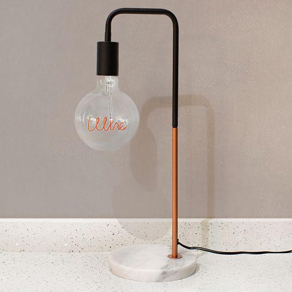 Marble Stone Base Desk Lamp