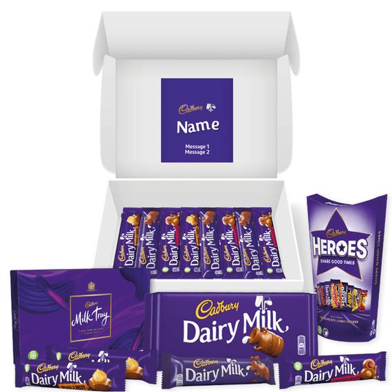 Personalised Cadbury Lovers Hamper