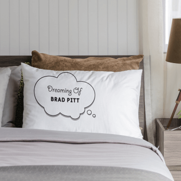 Personalised Dreaming Of Pillowcase