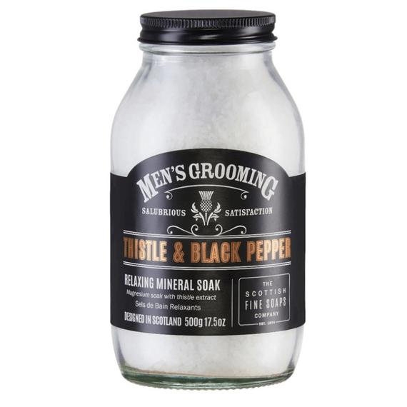 Thistle & Black Pepper Relaxing Mineral Bath Soak