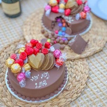 Personalised Valentines Smash Cake