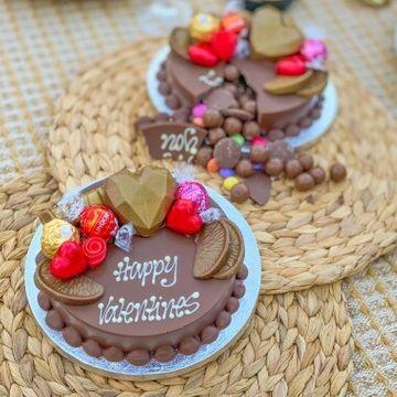 Personalised Mini Valentines Smash Cake