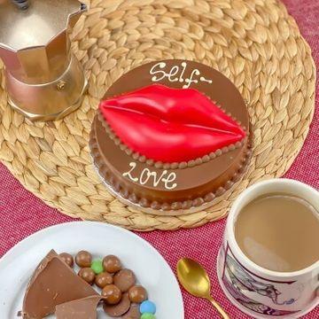 Personalised Mini Chocolate Smash Kiss Cake