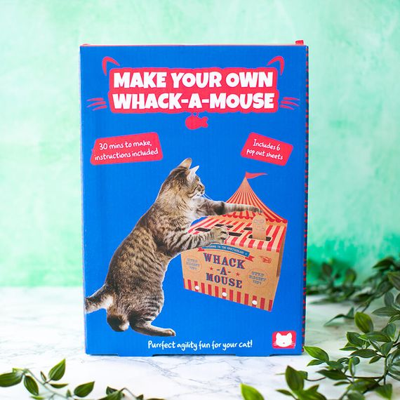 Cardboard Whack-A-Mouse