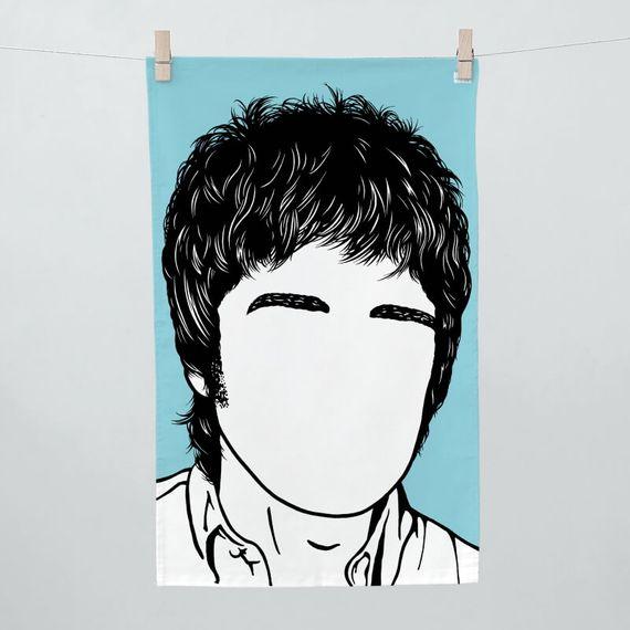 Noel Gallagher Tea Towel