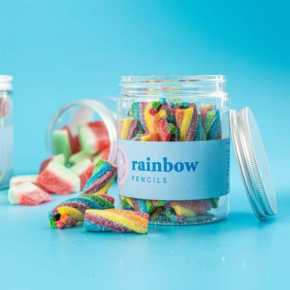 Rainbow Pencil Sweet Tub