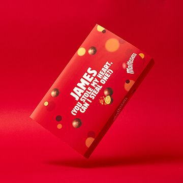 Personalised Maltesers Valentines Box