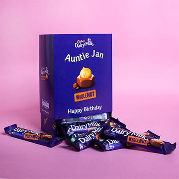 Personalised Favourites Box - Dairy Milk Whole Nut