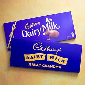 Personalised Cadbury Dairy Milk Retro 1960's Design - 850g