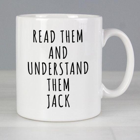 Personalised You Have No Authority Mug