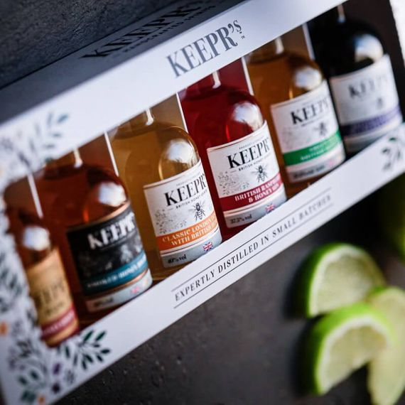 Keepr's Honey Gin Taster Gift Box