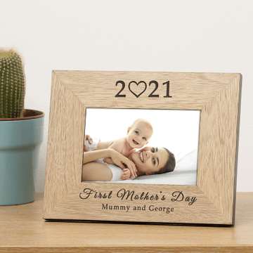 Personalised 2021 Mother's Day Photo Frame