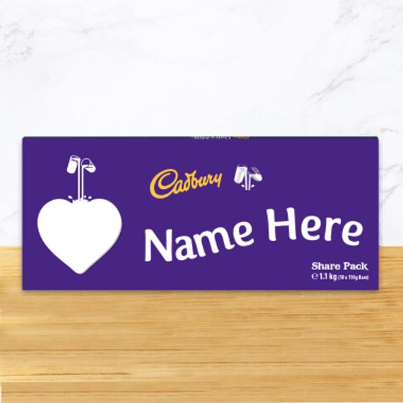 Personalised Cadbury Dairy Milk Chocolate Share Pack