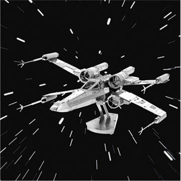 Metal Earth Star Wars X-Wing Fighter 3D Model Kit