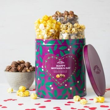 Mother's Day Popcorn Gift Tin