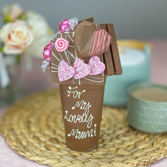 Personalised Mother's Day Chocolate Smash Cup