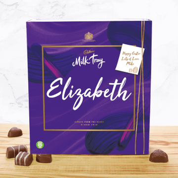 Personalised Cadbury Easter Milk Tray