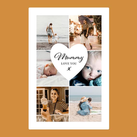 Personalised Mum Photo Blanket