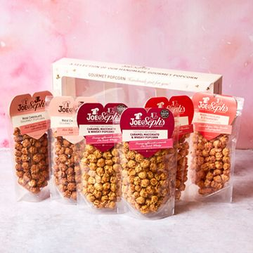 Love Heart Popcorn Pouch Selection Box