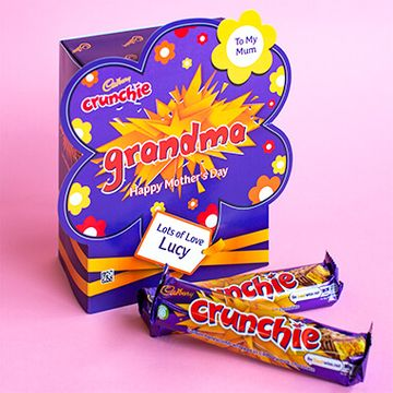 Personalised Mothers Day Favorites Box - Crunchie