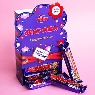 Personalised Mothers Day Favorites Box - Wispa
