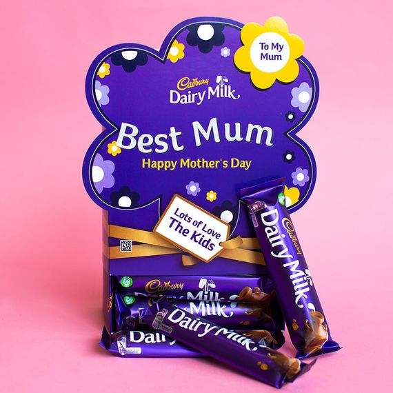 Personalised Mothers Day Favorites Box - Dairy Milk