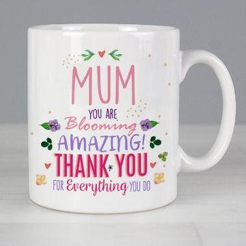 Personalised Blooming Amazing Mug