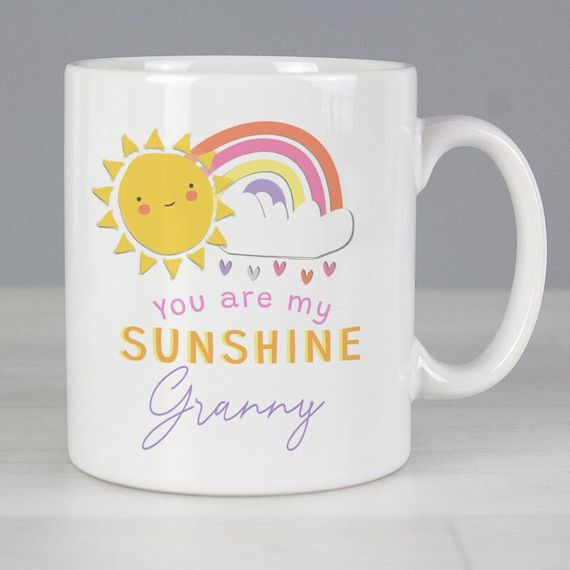Personalised You're My Sunshine Mug