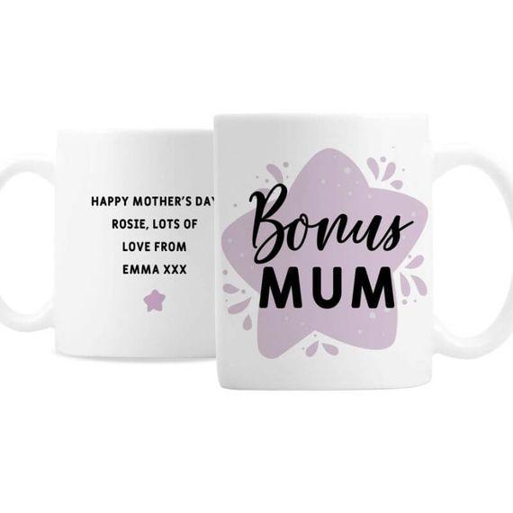Personalised Bonus Mum Mug