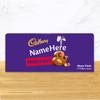 Personalised Cadbury Dairy Milk Fruit & Nut Share Pack