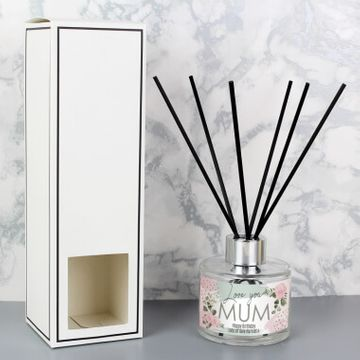 Personalised Abstract Rose Reed Diffuser