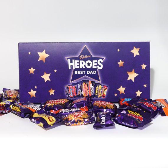 Personalised Cadbury Heroes Letterbox Selection