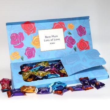 Personalised Cadbury Roses Letterbox Selection