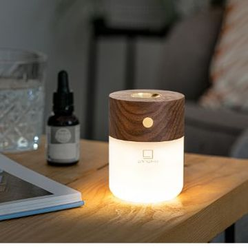 Smart Diffuser Lamp - Walnut